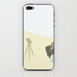Bison & Camera iPhone Skin