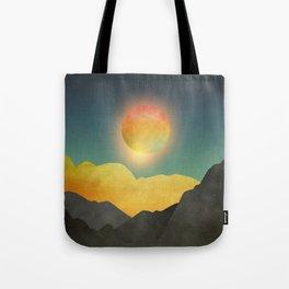 Surreal sunset 01 Tote Bag