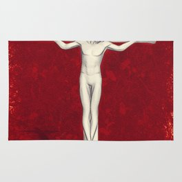 Blood of Christ Rug