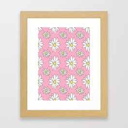 Fresh As A Daisy (Bubblegum) Framed Art Print