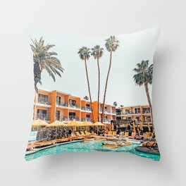 Hotel Tropicana #photography #travel Throw Pillow
