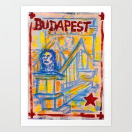 European Capital - Budapest Art Print