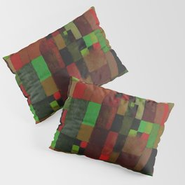 "Paul Klee ""RedGreen Architecture (yellow-violet gradation) 1922"" Pillow Sham"