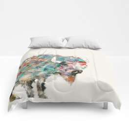 into the wild the buffalo Comforters
