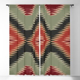 American Native Pattern No. 88 Blackout Curtain