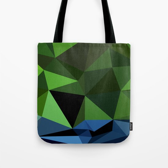 Polygon Heroes - Hulk Tote Bag