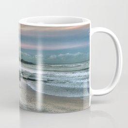 Seaburn lighthouse and coastline Coffee Mug