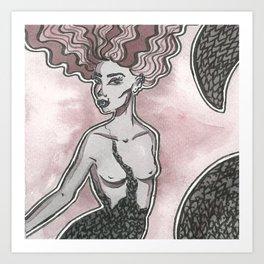 Echidna Art Print