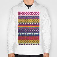 mexican Hoodies featuring Mexican Pattern by Eleaxart