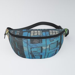 Tardis doctor who comic Fanny Pack