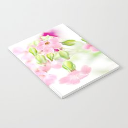 Pink Flowers Notebook