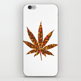 Cannabis Rainbow Design (62) iPhone Skin