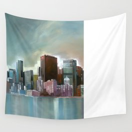 Chicago At Noon Wall Tapestry