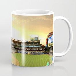 Baseball Game at Citi Field During Sunset Coffee Mug