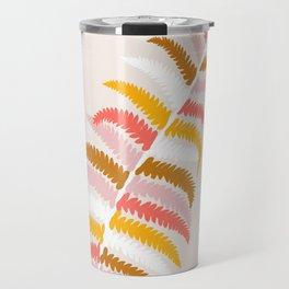 fall fern Travel Mug