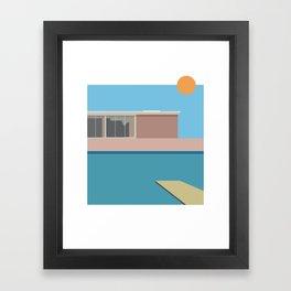 A Bigger splash Framed Art Print