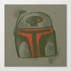 STARWARS Boba Canvas Print