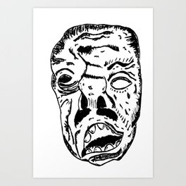 Hideous Art Print