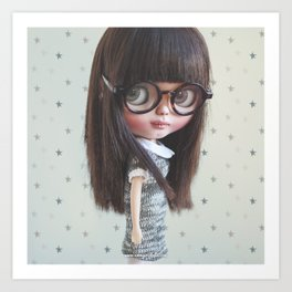 AYA CUSTOM BLYTHE DOLL BY ERREGIRO Art Print