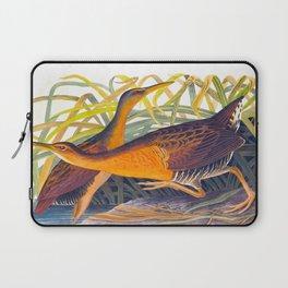 Great Red Breasted Rail John James Audubon Scientific Birds Of America Illustration Laptop Sleeve