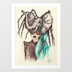 Bourgeois Yuyi Art Print