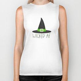 Wicked AF - Witch Hat Biker Tank