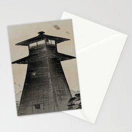Japanese Woodcut Ogata, Gekkō, 1859-1920: Edo Kite Festival Stationery Cards