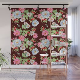 Vintage Floral Pattern No. 5 Wall Mural