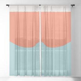 Zuma Beach Sheer Curtain