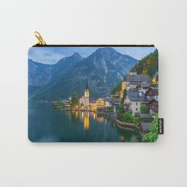 Hallstatt Village, Alps Carry-All Pouch