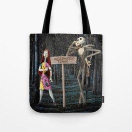 Halloween Town | Jack | Sally | Christmas | Nightmare Tote Bag