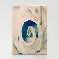 seashell Stationery Cards featuring Seashell by Linda Fields