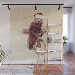 A Barnabus Christmas Wall Mural