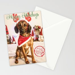 Lucy the naughty Reindeer... Stationery Cards