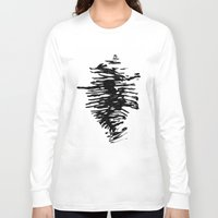 ghost in the shell Long Sleeve T-shirts featuring Shell by Arina Lourie