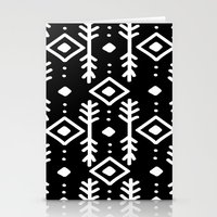 nordic Stationery Cards featuring BLACK NORDIC by Nika
