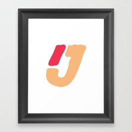 Minima #5 Framed Art Print