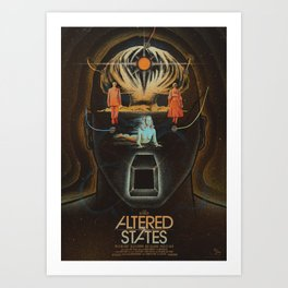 Altered States alternative movie poser Art Print