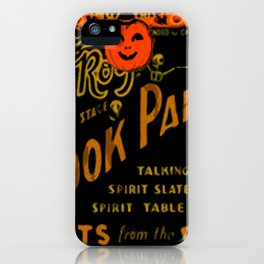 Spook Party iPhone Case