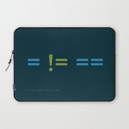 Assignment and Equality Laptop Sleeve