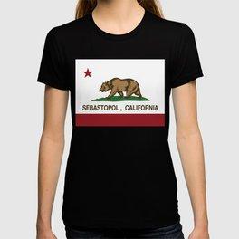 California Flag Sebastopol T-shirt