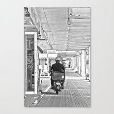 郵便配達  Yūbin haitatsu Canvas Print