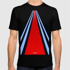 Martini Racing Black Mens Fitted Tee MEDIUM