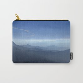 Blue dreams. Misty mountains Carry-All Pouch