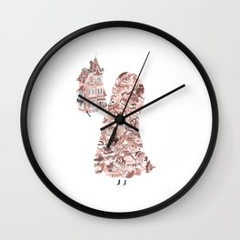 Little Ghostie Wall Clock