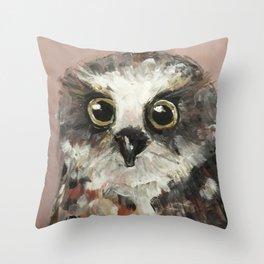 Nursery Art / Nursery Decor - Baby Owl Throw Pillow