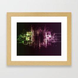 HighTech Framed Art Print
