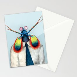 Mantis Shrimp Stationery Cards