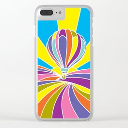 Sonoma County Sunrise Clear iPhone Case