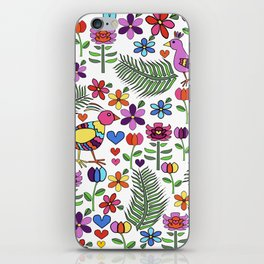 Otomi Floral iPhone Skin